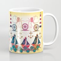 sailor Mugs featuring Sailor by famenxt