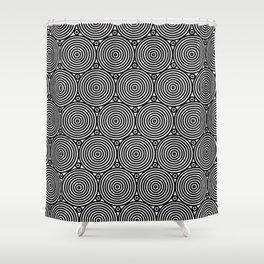 Op Art 8 Shower Curtain