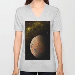 Space Exploration Unisex V-Neck