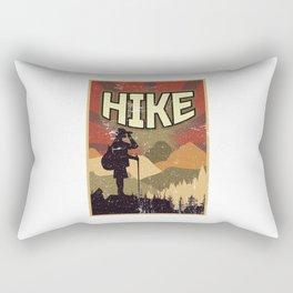 Hike Propaganda | Hiking Nature Outdoor Camping Rectangular Pillow