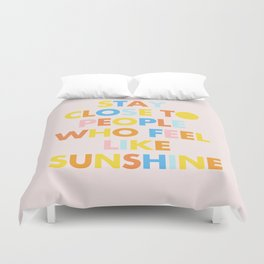 Sunshine People Duvet Cover