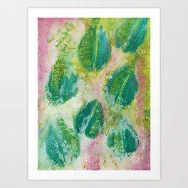 Maybe Leaves Art Print