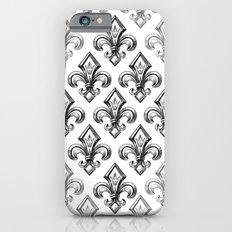 Royal - fleur de lys Slim Case iPhone 6
