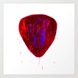 True Love / Invert. Fuck. #2 Art Print