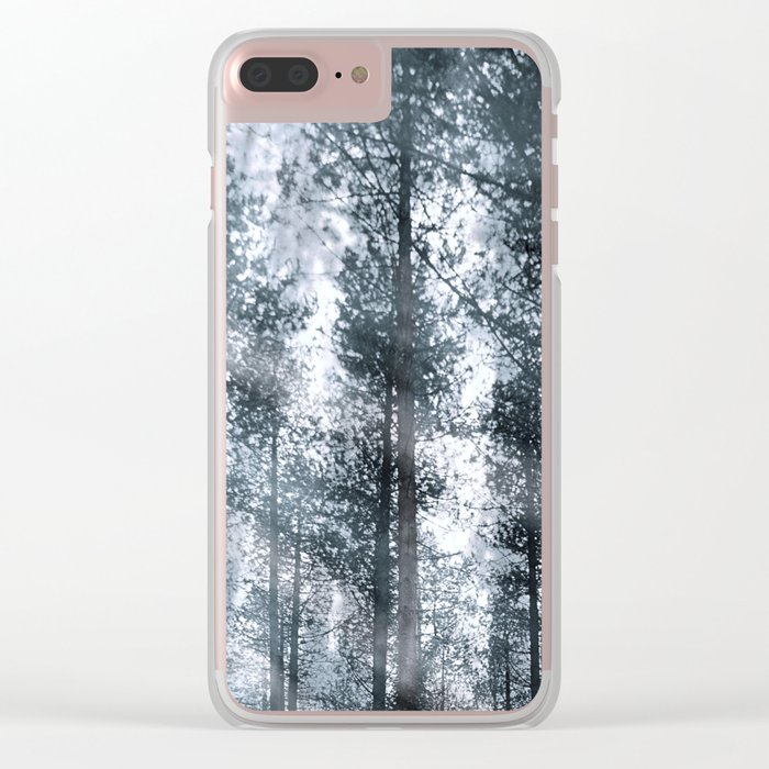 I Talk to the Trees... Clear iPhone Case