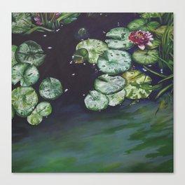 Water meditation I Canvas Print
