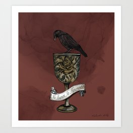 Six of Crows: The Dregs Art Print