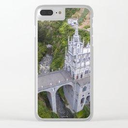 Sanctuario de Nuestra Señora Las Lajas Clear iPhone Case