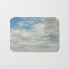 Clouds Painting, 1922 - John Constable Bath Mat