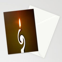 CANDLE LIGHT Stationery Cards