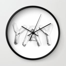 Yay Wall Clock