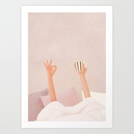 Morning Coffee II Art Print