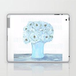 Boho still life flowers in vase Laptop & iPad Skin
