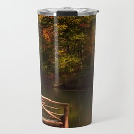 Fall shows us how beautiful it is to let things go Travel Mug