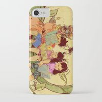 fairy tale iPhone & iPod Cases featuring Fairy Tale by Radical Ink by JP Valderrama