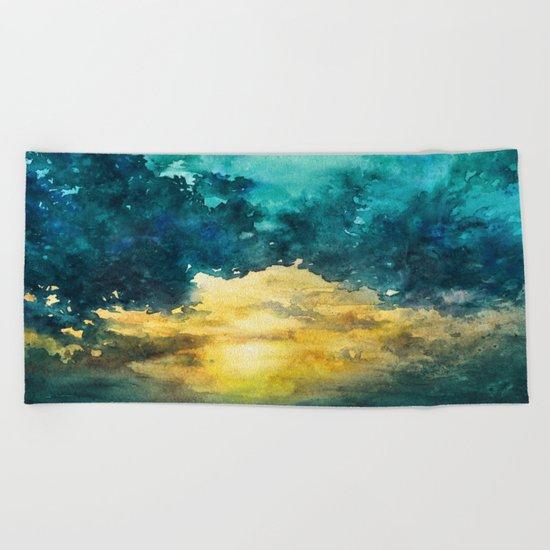 Sky No 3 Beach Towel