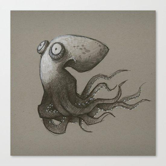 Octopus Canvas Print