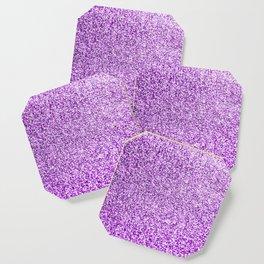 Purple glittery Coaster