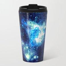NEbula. Teal Turqouise Blue Aqua Travel Mug