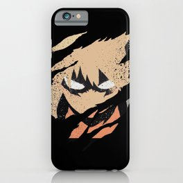 Katsuki Bakugou iPhone Case