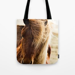 A Pony in Iceland Tote Bag