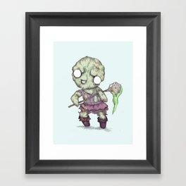 Toxie Framed Art Print