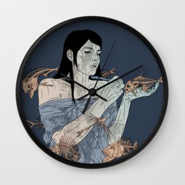 fishes Wall Clock