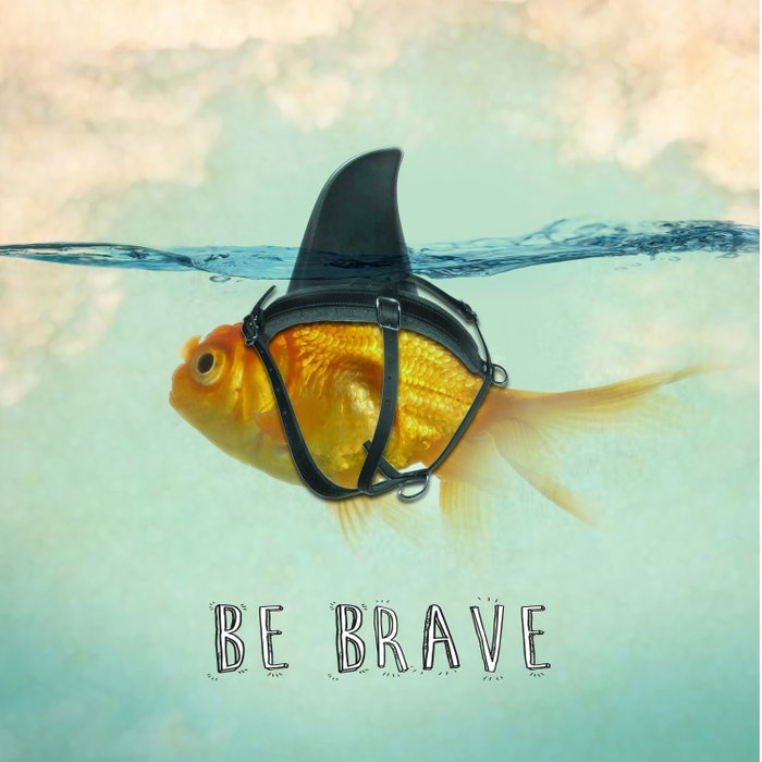 Be Brave - Brilliant Disguise Duvet Cover