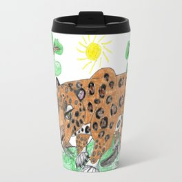 Indian Leopard Travel Mug