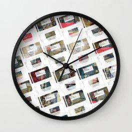 iPattern_no1 Wall Clock