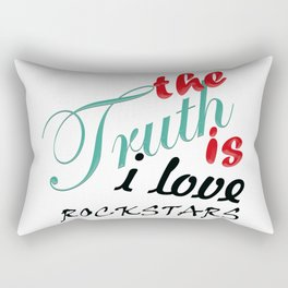 The Truth is... Rectangular Pillow