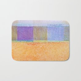 Amber and Mauve Square Collage Bath Mat