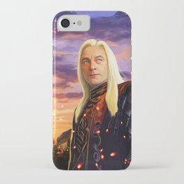 Lucius Malfoy iPhone Case