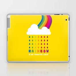 RAINBOW IS MY FAVORITE COLOR Laptop & iPad Skin