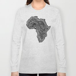 ROOTED (NIGERIA) Long Sleeve T-shirt