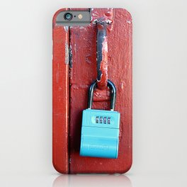 Hugh Keeps Me Hangin On iPhone Case
