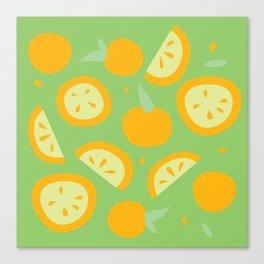 Tropical - Citrus Canvas Print