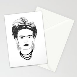 Spacey Frida Stationery Cards