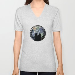 World Wide Anonymous Unisex V-Neck