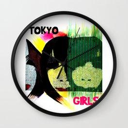 Tokyo Girls Wall Clock