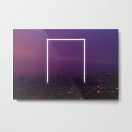 Rectangle No. 17 Metal Print