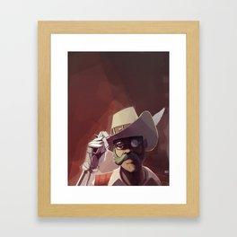 Borderlands - Sir Hammerlock Framed Art Print