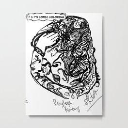 ABSTRACTDEZIGNS3 Metal Print