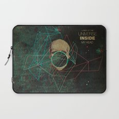 A Part Of The Universe Inside My Head Laptop Sleeve