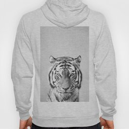 Tiger - Black & White Hoody