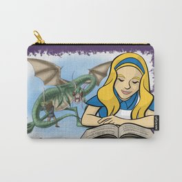 Through the Looking Glass Carry-All Pouch