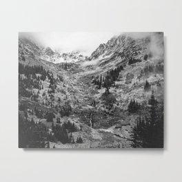Foggy hills Metal Print