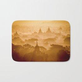 Zen moments dreamy pink landscape (Asia travel) - Fine Art Print colorful Bath Mat