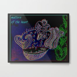 Matters of the heart Metal Print