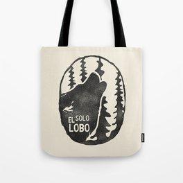 El solo Lobo Tote Bag